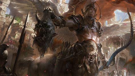 sagittarius archer fantasy epic zodiac