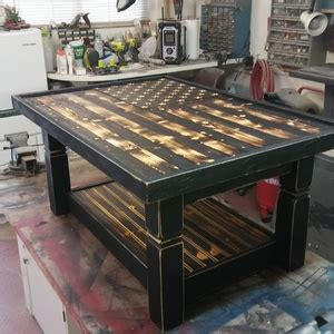 rustic flag coffee table ryobi nation projects
