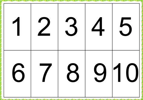 Download 1 To 10 Numbers Free Picture Png  Free Transparent Png Images, Icons And Clip Arts