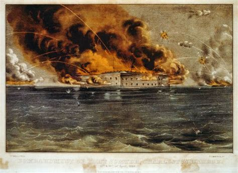 siege eram the battle of fort sumter for of the