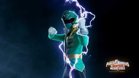 megaforce green ranger power rangers for your now etoonz