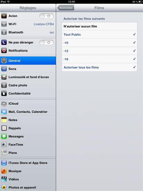 parental iphone contr 244 le parental sur iphone ou ipod touch