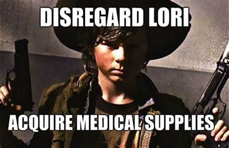 Walking Dead Carl Meme - the 30 best walking dead memes tv galleries paste