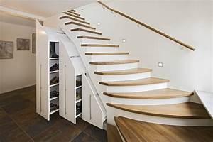 Unter Treppen Schrank : treppenschr nke stauraum unter der treppe wohnen nach mass ~ Michelbontemps.com Haus und Dekorationen