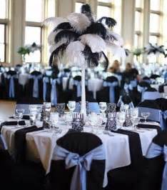 damask chair covers 46 cool black and white wedding centerpieces happywedd