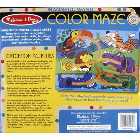 magnetic color maze doug magnetic wand color maze babyonline