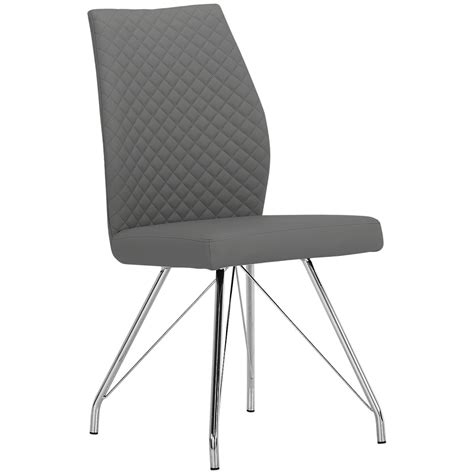 city furniture lima gray upholstered side chair