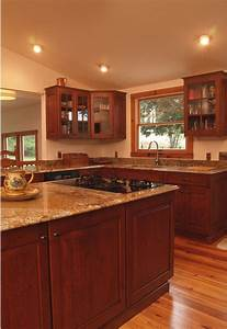 cherry wood kitchens 2132