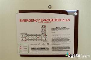 Emergency evacuation plan for the Standard Room at the ...