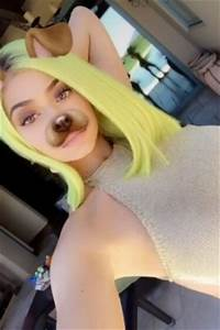 Kylie Jenner tried out a brand new hair color and it s