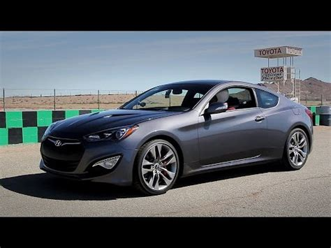 Hyundai Genesis Coupe Track by Hyundai Genesis Coupe 3 8 Fast Blast Mpg Track Review