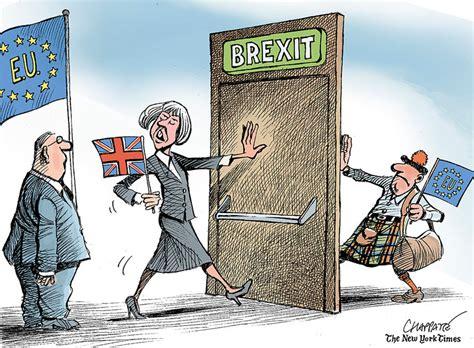 brexit begins   york times