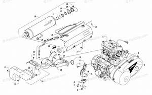 Arctic Cat Side By Side 2017 Oem Parts Diagram For Engine