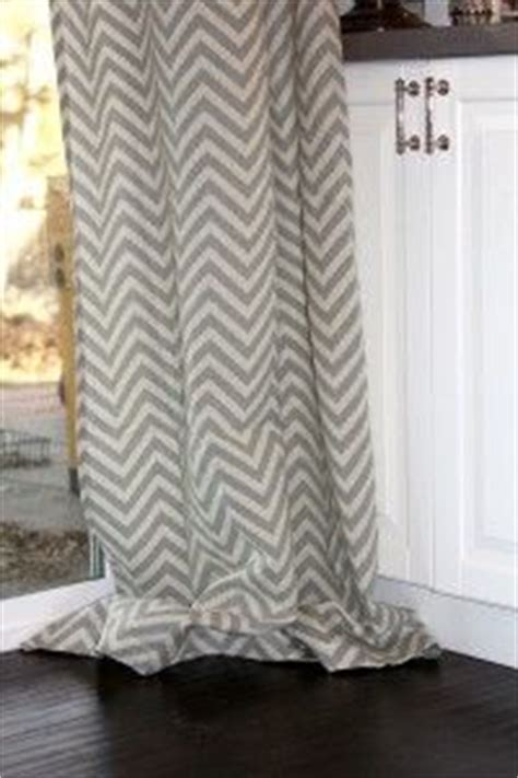 The perfect chevron curtains!  CANNOT believe they're