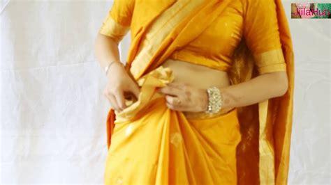 How To Wear Silk Saree Very Quickly & Perfectly( Diy Sari