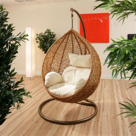 hanging chair indoor uk hanging wicker chair for indoor and outdoor sitting