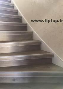 Habiller Un Escalier En Béton Brut : habillage escalier beton en bois decoration d interieur moderne escalier beton bois on ~ Nature-et-papiers.com Idées de Décoration