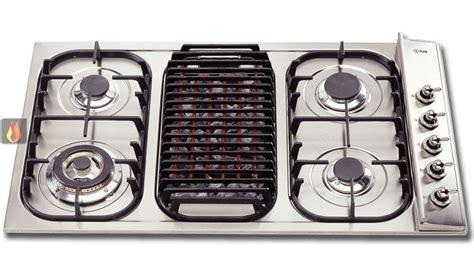 plaque de cuisson gaz 90 cm encastrable inox 5 foyers dont 1 foyer wok et 1 foyer barbecue ilve