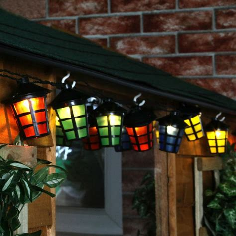 how to hang string lights on fence 9 best images about solar lanterns on pinterest solar