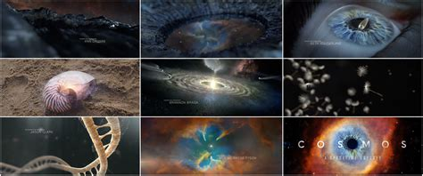 Cosmos A Spacetime Odyssey (2014) — Art Of The Title