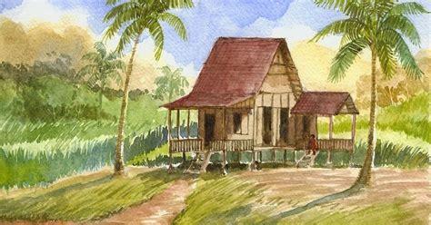 Gambar Lukisan Rumah