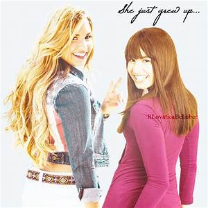Demi Lovato Grew Up By Rlovaticabelieber On Deviantart