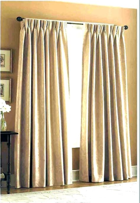 Pleated Hook Drapes - drapes with hooks sewing alluring pleated curtains decor
