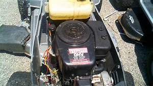 Craftsman 38 Inch Riding Mower Lt4000 Motor For Parts
