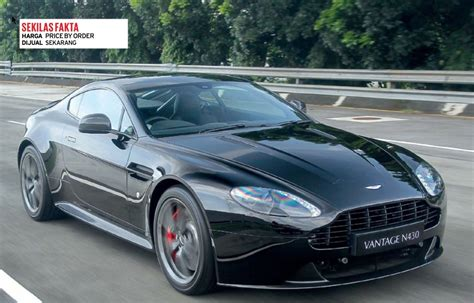 Gambar Mobil Aston Martin Vantage by Review Spesifikasi Mobil Aston Martin Vantage N430 Juli