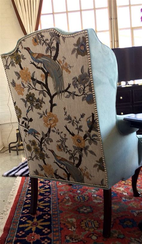 chair upholstery fabric ideas  pinterest