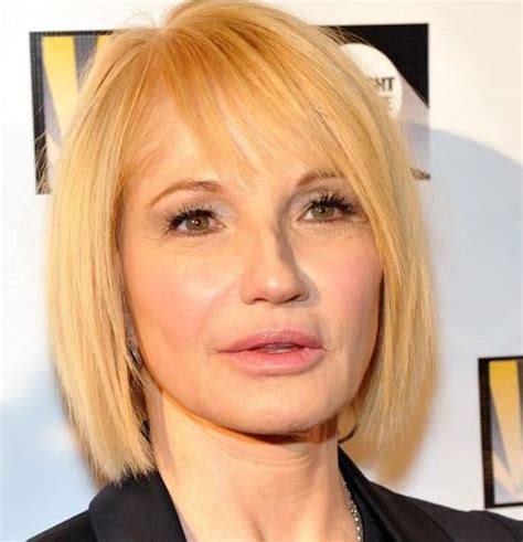 Ellen Barkin Sleek Bob   Casual, Everyday   Careforhair.co.uk