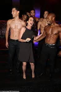 Andie MacDowell at the Magic Mike XXL after party with ...