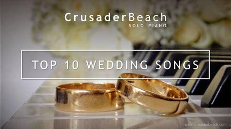 top  wedding songs  walking   aisle