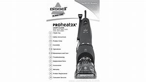 Bissell Proheat 2x 9400 5 Manual - Usermanuals Tech
