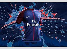 Camisas do PSG 20172018 Nike Mantos do Futebol