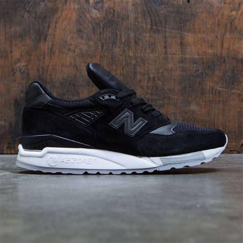 New Balance Men 998 M998nj  Made In Usa Black Grey