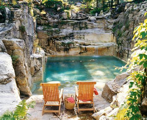 backyard quarry swimming pool luxury estate massachusetts