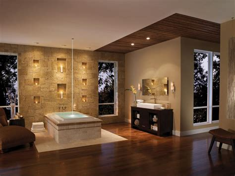 Spa Inspired Bathroom by Spa Inspired Master Bathrooms Hgtv