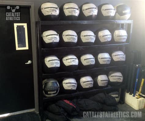 medicine ball rack building tutorial  greg everett equipment catalyst athletics olympic