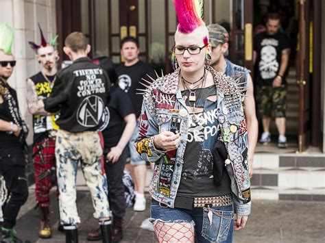 rebellion punks tony smiths festival  travel photography