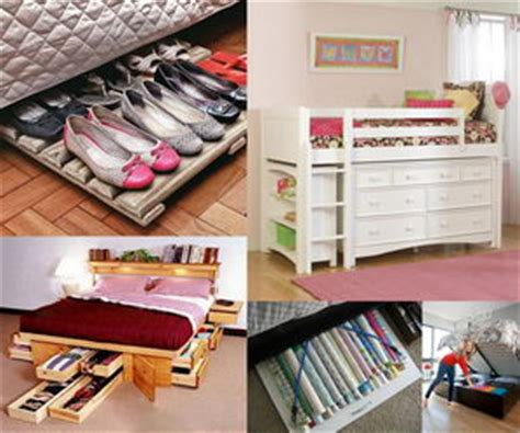 creative storage for small bedrooms creative under bed storage ideas for bedroom hative 18581   under bed storage ideas collage