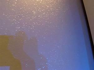 peinture pailletee salle de bain With carrelage adhesif salle de bain avec light star led