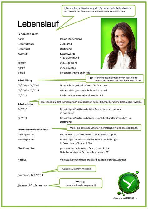 Lebenslauf Für Ausbildung Vorlage by 11 Lebenslauf Muster Ausbildung Oberteil Vorlage Bewerbung