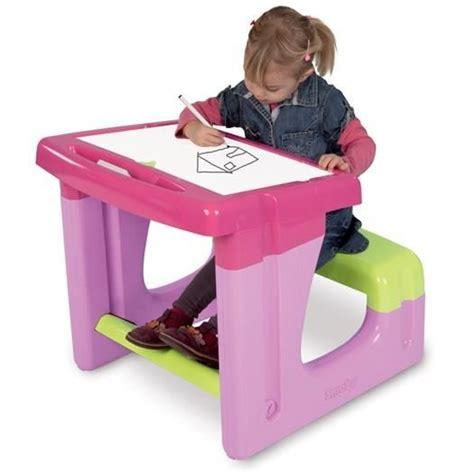 bureau plastique enfant smoby bureau enfant petit ecolier achat vente