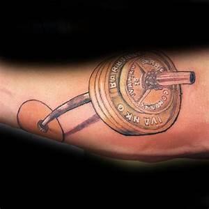 Kettlebell Designs 35 Tatuaggi Con Pesi E Manubri Con Il Significato