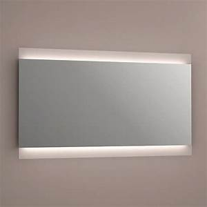 miroir miroir lumineux With miroir salle de bain 120 cm