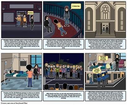 Storyboard Outsiders Storyboards Slide