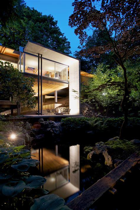 Moderne Häuser Im Wald by Southlands Residence Ein Modernes Haus Im Wald Studio5555