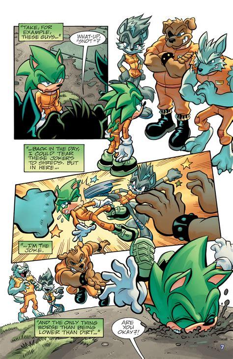 sonicuniversevolscourgelockdown  archie comics