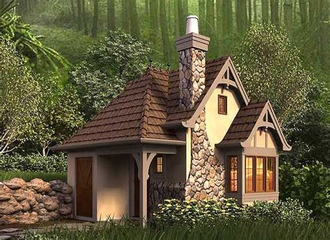 Whimsical Cottage House Plan